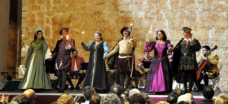 Actuación en el XII Festival de Música Renacentista y Barroca de Vélez Blanco